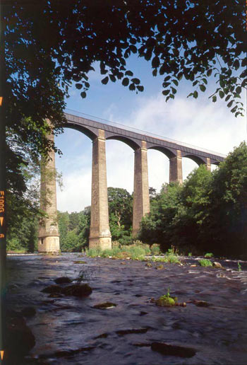 Pontcysyllte aquaduct, Wrexham: a monument of international importance. ©Cadw, Welsh Assembly Government (Crown Copyright)